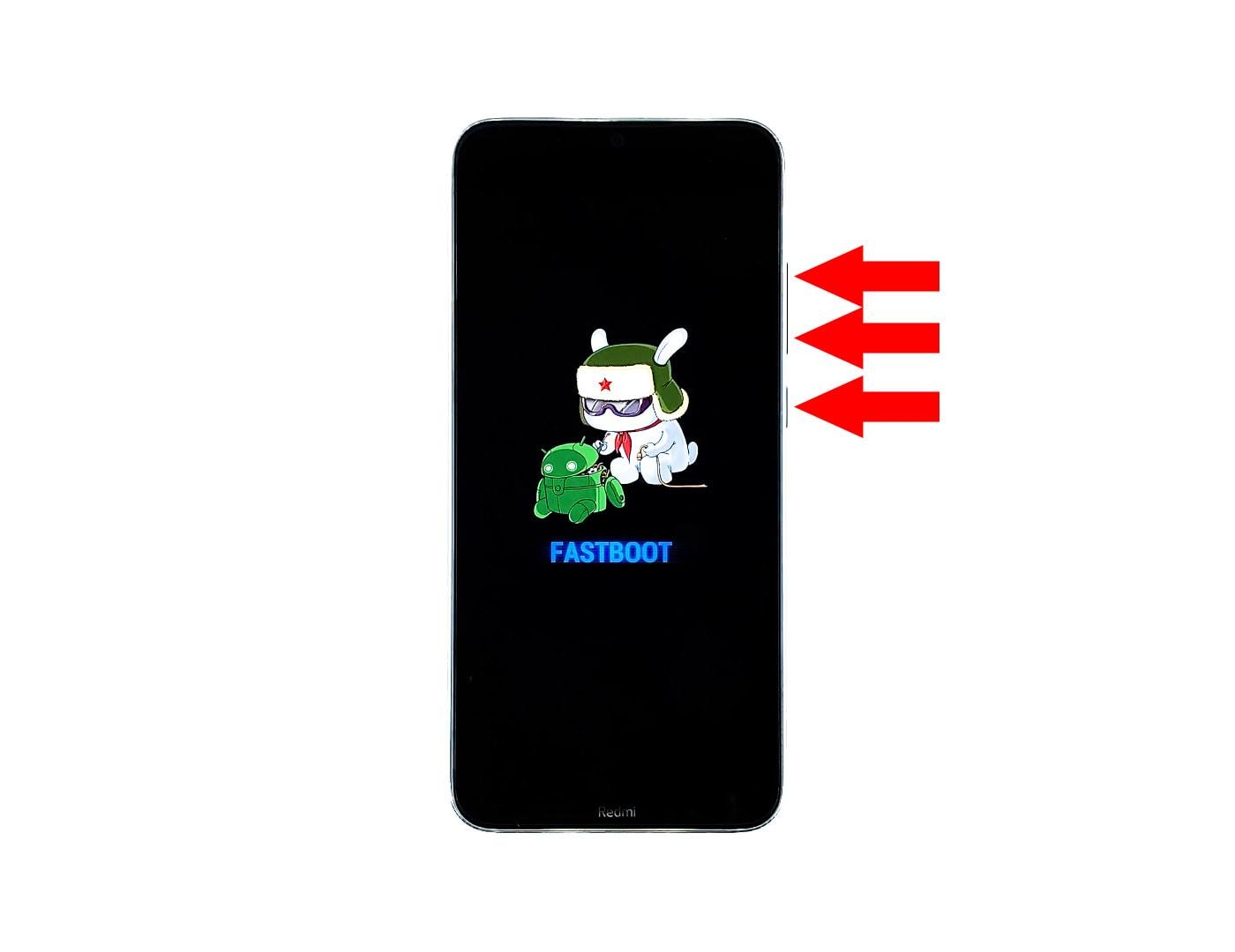 redmi note 8 stuck on fastboot screen force restart