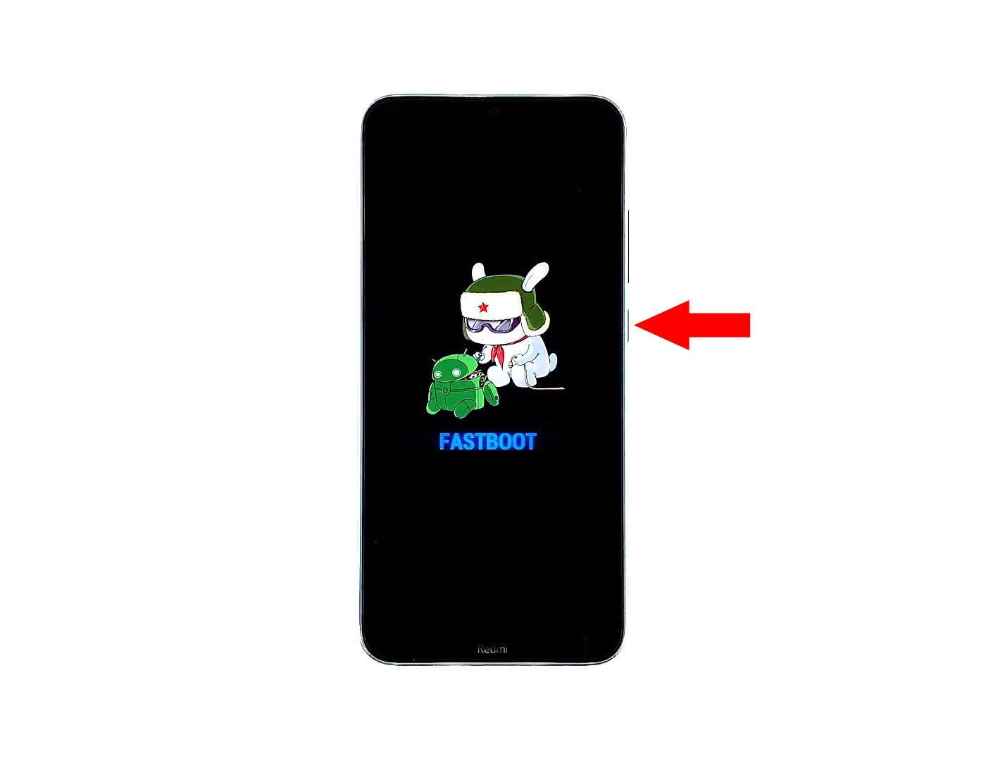 redmi note 8 stuck on fastboot screen
