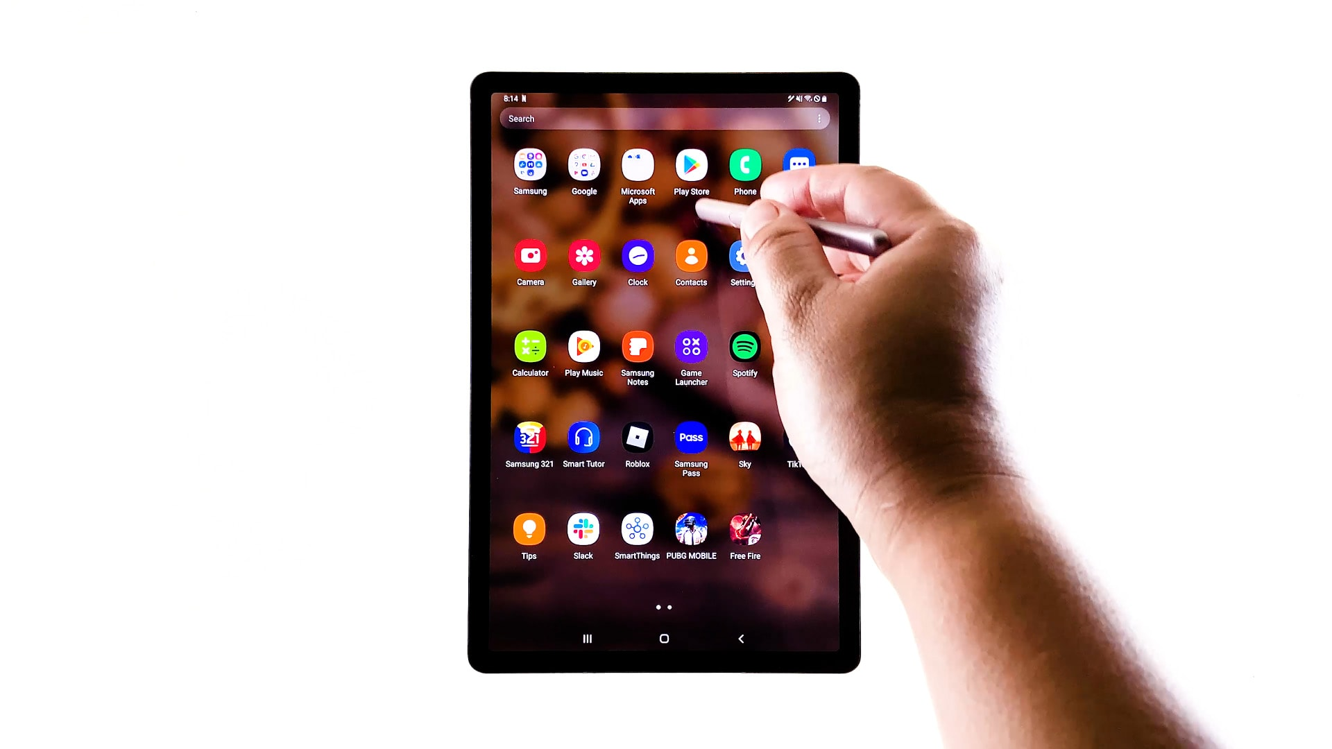 check play store updates galaxy tab s6 - pstore icon