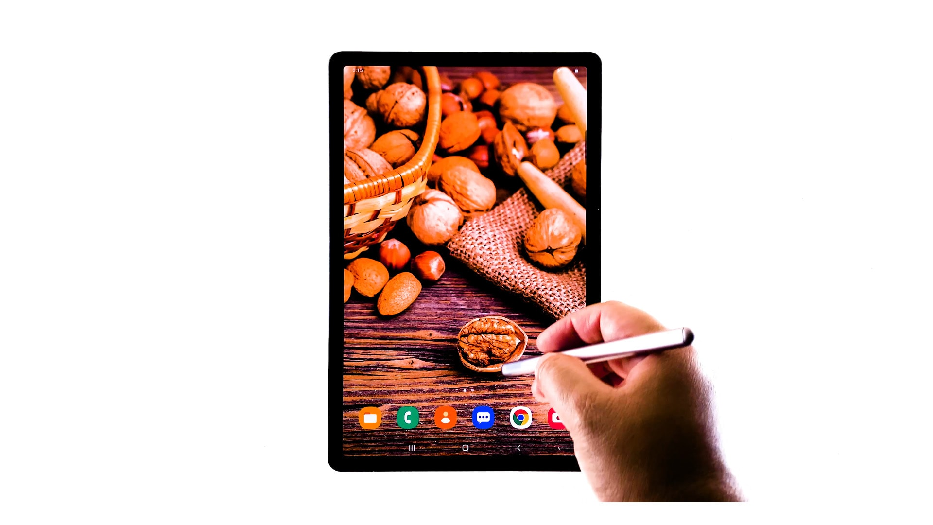 delete forget wifi network galaxy tab s6 - home screen