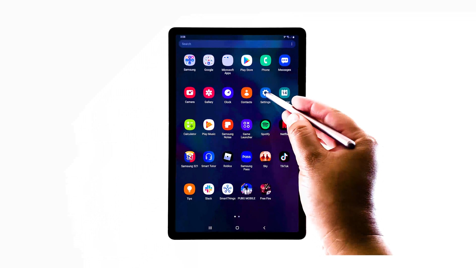 manage samsung keyboard settings galaxy tab s6 - settings