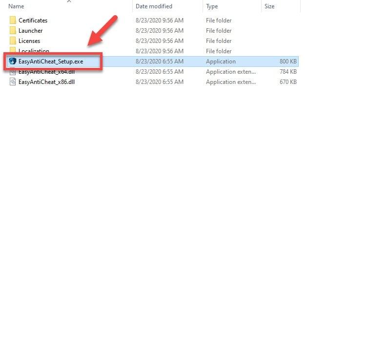 Fixing the Error Code 30005 on Fortnite