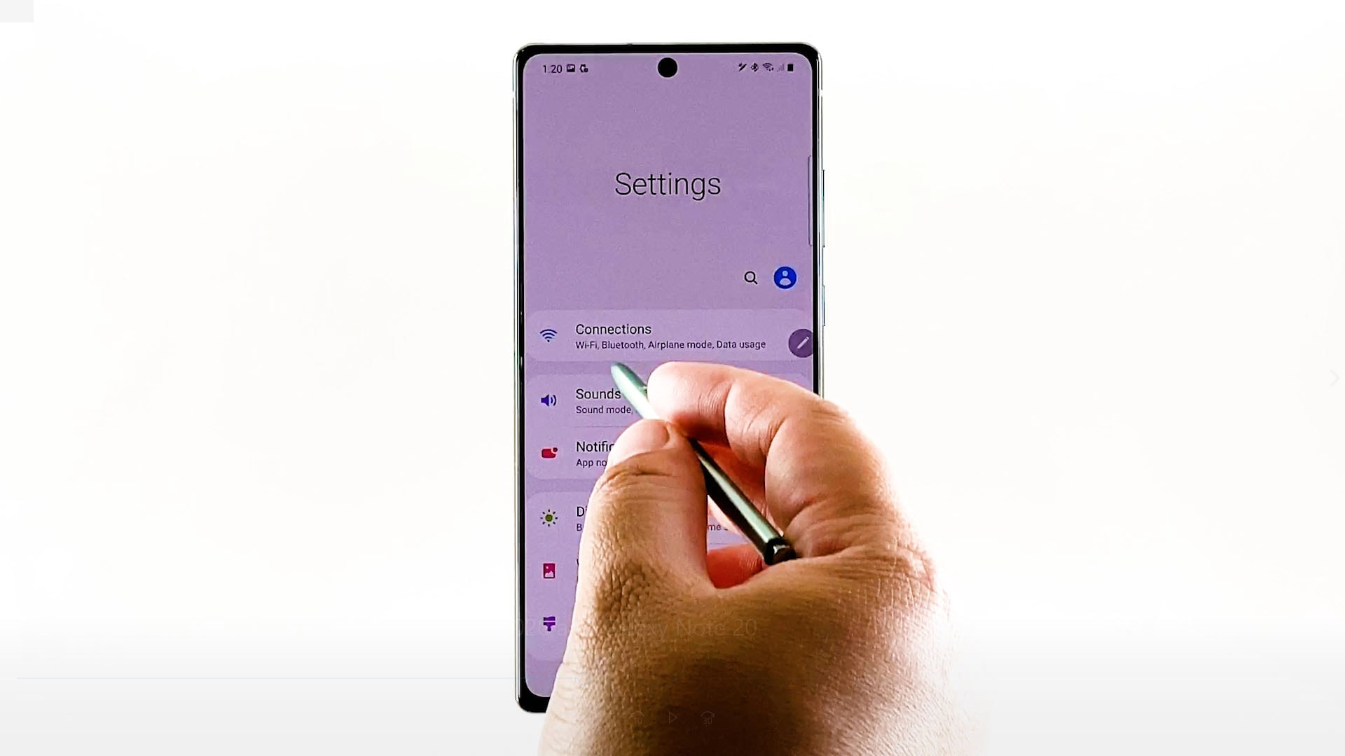 bluetooth pairing galaxy note 20 and iphone-connections