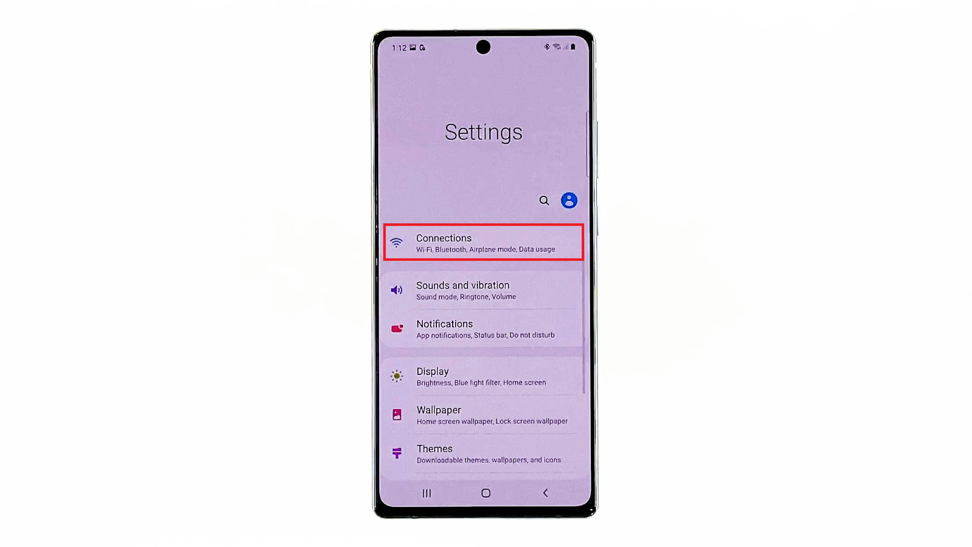 forget delete wifi networks galaxynote20-connections