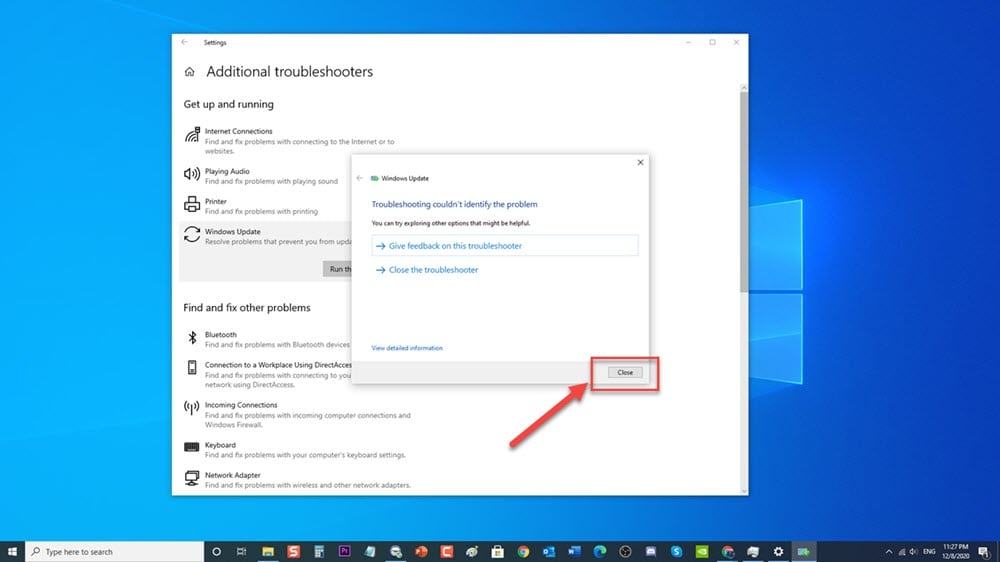 Windows Update Error code 0x80070490