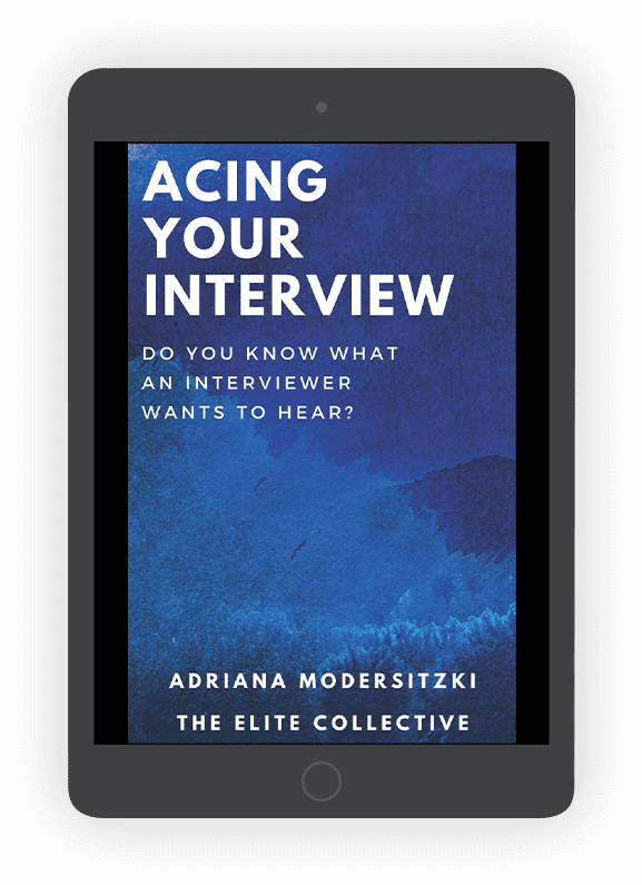 Acing your interview ebook cover