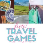Planning on hitting the road this summer with the family? These Fun Travel Games for Kids are a perfect way to keep the kids occupied on those long family vacation road trips. #familyvacation #kidsgames #traveltips #roadtripideas