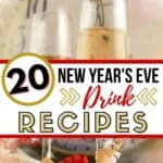 Ring in the New Year with one of these 15+ Celebration Drinks! These easy cocktail recipes are the perfect way to celebrate the holiday season!