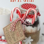 Hot Cocoa In A Jar is a perfect warm-up gift to make this holiday season.