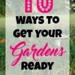 10 Ways To Get Your Gardens Ready For Spring.