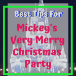 Mickey's Very Merry Christmas Party will once again headline all of the festivities for the Disney World 2019 Christmas season. Here are all the details for the upcoming Disney Holiday Events. #DisneyChristmas #DisneyTips #DisneyPackingList