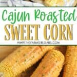 It's not summer on the farm without corn on the cob. Grab some at your local farmers' market. Spice up your corn with this tasty Cajun roasted corn recipe. This roasted corn recipe is an easy summer recipe idea. It's a delicious summer BBQ recipe too.