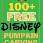 Happy Fall! Carve up some Disney magic this Halloween with one or more of these 100+ Disney Pumpkin Carving Ideas. How cute will your pumpkin look with one of these Disney, Star Wars or Marvel Characters??!! These Disney Pumpkin Carving Patterns are free to download. So get ready to carve up some Disney fun. Turn your favorite Disney Character into a Disney pumpkin with one of these free Disney pumpkin carving templates.