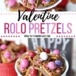 Valentine Rolo Pretzel Sandwiches