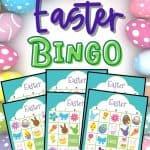 easter bingo cards - free printable