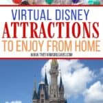 If you are a Disney fan, but you can't (or aren't quite ready) to go to the parks yet, try this list of virtual Disney attractions you can watch from home. These Disney planning tips will help bring the Disney World magic back for all of us.