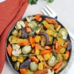 Easy roasted fall vegetables are a healthy recipe packed with a lot of flavor. Here are tips on how to roast vegetables.