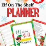 Ho Ho Ho it's the Elf on the Shelf. Download this free Elf On The Shelf Planner full of planning tips and ideas for Elf On the Shelf.