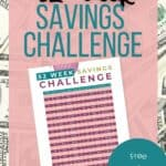 52 Week Savings Challenge