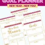 Set some goals for yourself this year. Download this free printable New Year Goal Planner to help you track and achieve success this year. New year, new you. Set some goals to achieve this year. This free printable planner is a great tracking tool. Use this free daily planner to track your habits and live a healthier lifestyle.