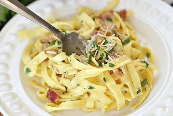 Quick & Easy Pasta Carbonara