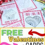 Color some fun this Valentine's Day. Download this Free Printable Kid's Valentine set to give to friends and classmates. These printable Valentines are fun to color.