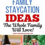 Plan a memorable vacation at home. Keep your family staycation simple and save money with these 15 fun Staycation Ideas. Planning a family vacation doesn't have to be expensive. Check out these Family Staycation Ideas Everyone Will LOVE!