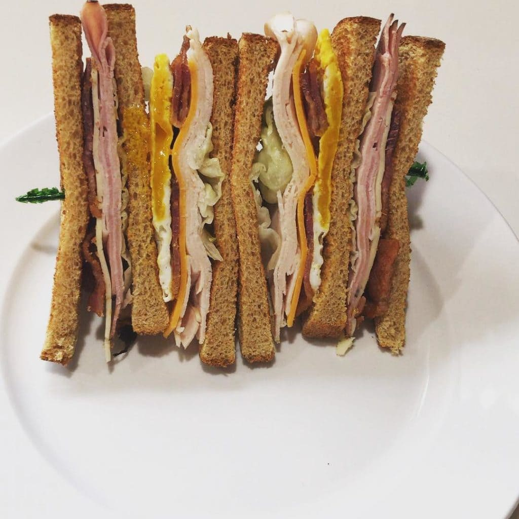 Club Sandwich at The Ridge