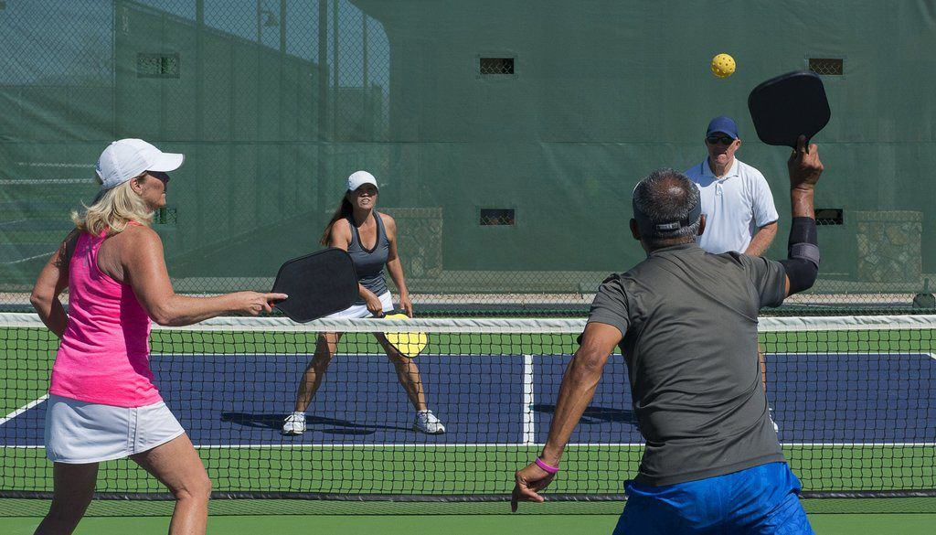 pickleball stacking
