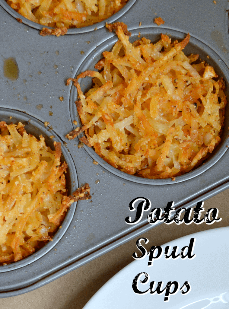 Potato Latke Muffin Cups