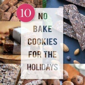 10 Gluten Free No Bake Cookies for the Holiday's on @beardandbonnet