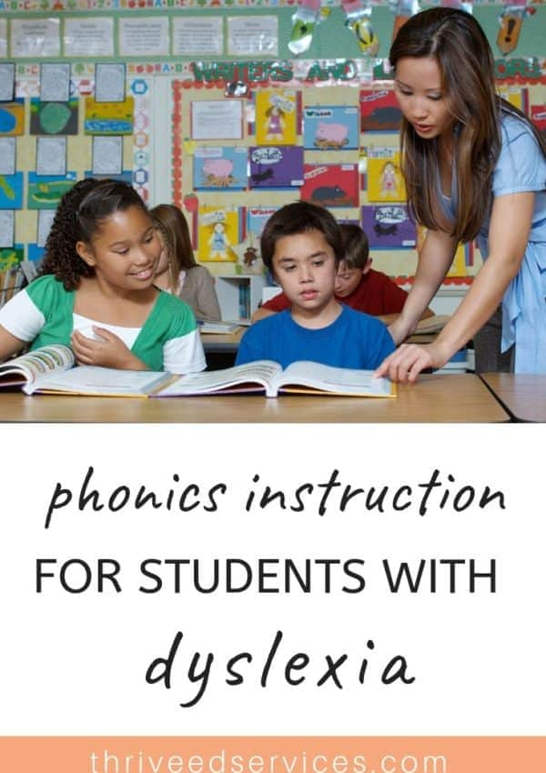 Why Systematic Synthetic Phonics Is Best for Dyslexic Students