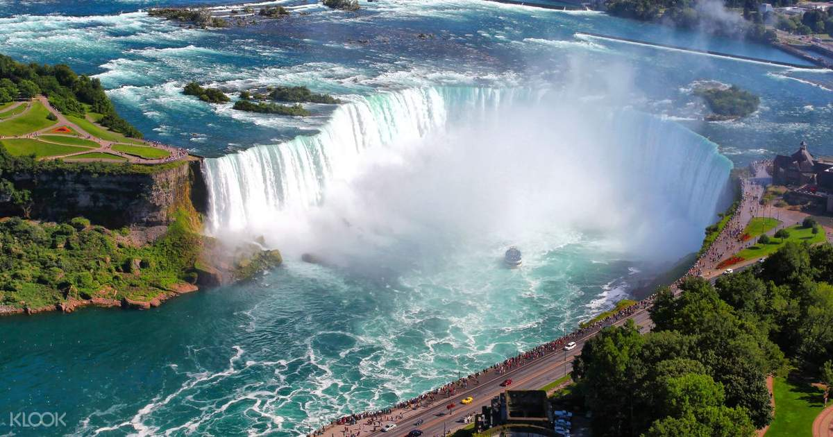 Niagara Falls Day Tour from New York by Bus