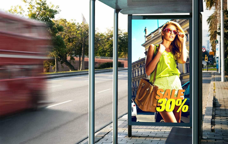 Уличный экран Samsung серии OHN