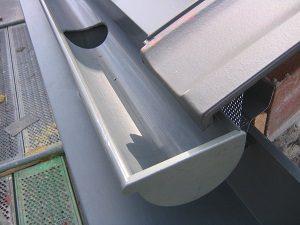 Dachentwässerung bei Tipp zum Bau
