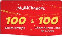 Pack 100 Multichances Grand Loto Noël