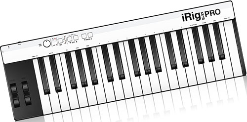 5. IK Multimedia iRig Keys Pro full-sized 37-key MIDI controller