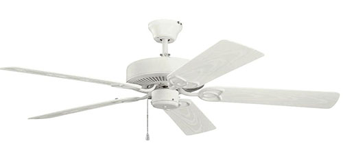6. Kichler Lighting Basics Patio 5-Blade Ceiling Fan