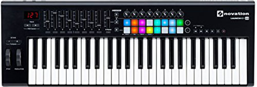 1. Novation Launchkey 49 USB Keyboard Controller