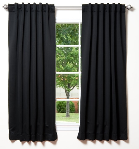 10. Best Home Insulated Blackout Curtains