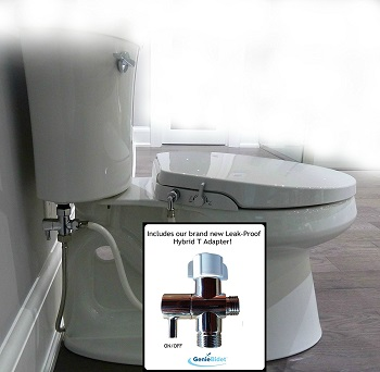 3. GenieBidet Seat with Dual Self Cleaning Nozzles