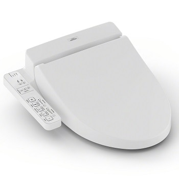 1. TOTO Washlet C100 Elongated Bidet Toilet Seat with PreMist