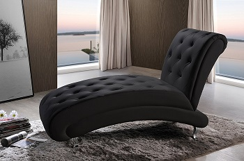 8. Baxton Studio Contemporary Chaise Lounge: