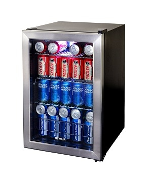 6. NewAir 84-Can Beverage Cooler