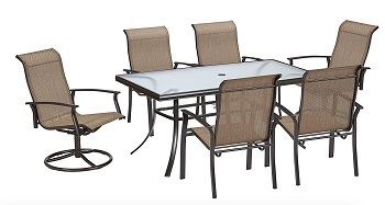 2. Accentuate Patio Dining Set