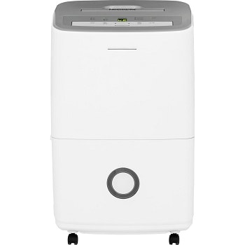 3. Frigidaire 30-Pint Dehumidifier with Effortless Humidity Control, White