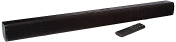 6. AmazonBasics 2.0 Channel Sound Bar