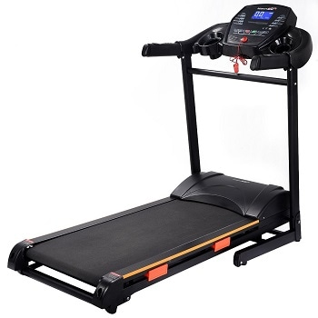10. Goplus 1000W Folding Electric Treadmill