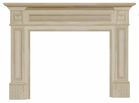9. The Classique 50-Inch Fireplace Mantel