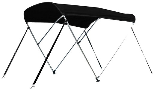 9. Leader Accessories 10 Colors 3 Bow Bimini Top Boat Cover